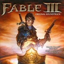 Fable III / 3 Video Game CD Soundtrack - Brand New & Sealed - Rare
