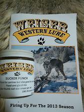 Weiser Western Lure 4 oz. Sucker Punch /fox, coyote, coon, bobcat