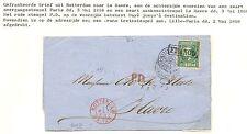 NEDERLAND 1868  LETTER COVER TO FRANCE  NR#10  F/VF