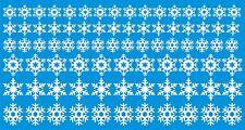 copos de nieve Christmas Ventana/Decoración de pared pegatina