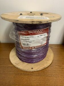 Southwire Tappan P40040 18/6C Plenum Shield Communication Cable Purple 500'