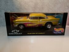 Hot Wheels Custom '57 Chevy 1/18 Diecast Car NEW 1957 Chevy