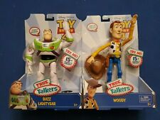 Toy Story 4 True Talkers Woody And Buzz Lightyear NIB