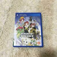 PS vita Digimon Story Cyber Sleuth Japan PSV Game from Japan