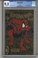SPIDER-MAN #1 CGC 9.2 WPGS GOLD EDITION LIZZARD APPEARANCE SECOND PRINTING 1990