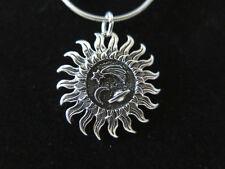 STERL SILVER Pendant Celestial Sun Star Moon Planet RIO GRANDE Charm 925 NEW A74