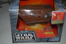 Star Wars Action Fleet Galoob Jawa Sandcrawler Boxed Complete Figures