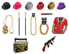 90s Fancy Dress Old School Pimp Set Gangster Costume Hustler Rapper Ali G Party
