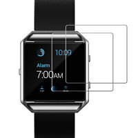 JETech Screen Protector for Fitbit Blaze Smart Watch Tempered Glass Film, 2-Pack