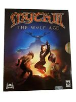 Myth III 3 The Wolf Age - Windows Pc game Very Rare Big Box Brand New Sealed