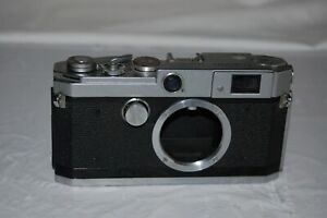 Canon-L2 Vintage 1956 Japanese Rangefinder Camera. Serviced. No.524005. UK Sale