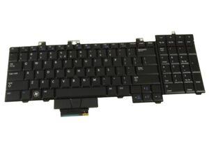 New US INTL Dell OEM Precision M6500 Laptop Keyboard  Backlight D122R