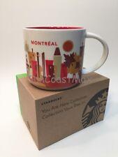 Starbucks Montreal You Are Here Series Montréal 14oz Mug USA Seller Free Ship