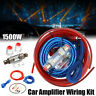 New Car Audio 1500W 8Ga Cable Kit Amp Amplifier Install RCA Subwoofer Sub Wiring