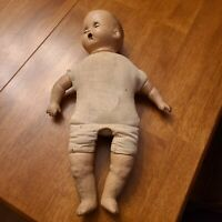 "17"" CREEPY SLEEPY EYE STRESSED ATTIC FOUND DOLL REPAIR Horsman PROP"