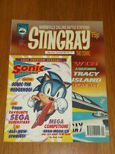 STINGRAY #17 22ND MAY - 4TH JUNE 1993 WASP BRITISH COMIC WITH RARE SONIC COMIC