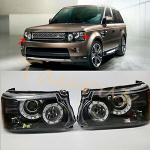 Left & Right Xenon Headlight Assembly For Land Rover Range Rover Sport 2010-2013