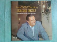 Jerome Hines I Love to Tell The Story LP EX WST-8365