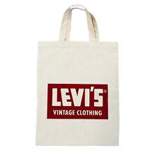 Levi's Vintage Clothing LVC Big E Tote Bag Sack Levi Strauss Made in USA