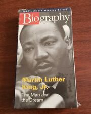 1997 A&E Award Winning Series Biography  Martin Luther King Jr VHS  New - Sealed