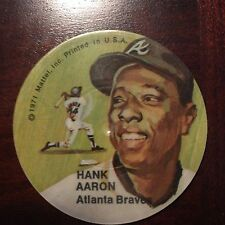 MATTEL Instant Replay Disk-double sided-HANK AARON