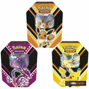 Pokemon V Powers Collectors Tins | Choose Design | New & Sealed | Booster Packs