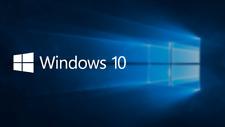 Microsoft Windows 10 Professional 64 & 32 bit License Key Product Code