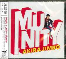 AKIRA JIMBO-MUNITY-JAPAN CD G53