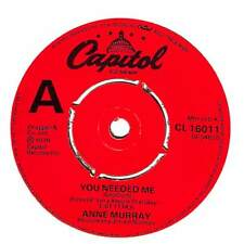 """Anne Murray - You Needed Me - 7"""" Record Single"""