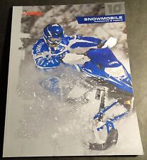 2010 YAMAHA SNOWMOBILE ACCESSORIES & APPAREL SALES CATALOG BROCHURE (228)