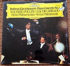 LP Brahms Klavierkonzert Maurizio Pollini Claudio Abbado DG 2530 790