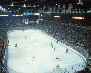 Canadiens MONTREAL FORUM Glossy 8x10 Photo 1986 NHL Finals Print Game 4 Poster