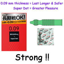 Strong Condom Sagami 009 Thick Latex Long Lasting Climax Control Extend Pleasure