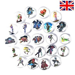 24Pcs Zelda Collection Coin The Legend Of Card Full Set Inclue Link's Awakening