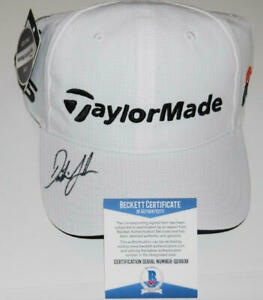 DUSTIN JOHNSON SIGNED AUTOGRAPH TAYLORMADE HAT CAP 2020 MASTERS CHAMPION BECKETT
