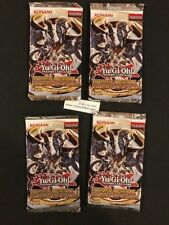 (4X) Yugioh  Hidden Arsenal 7 -factory sealed booster packs**FREE SHIP** ALL 4