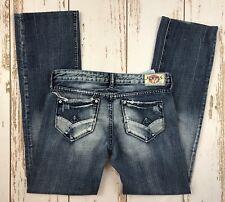 LTC-  LE TEMPS DES CERIES Denim Paris Jeans Distressed Ladies Juniors Size 29