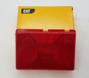 ONE FACTORY REAR TAIL LIGHT LENS COVER FOR CAT 247 247B 257 257B