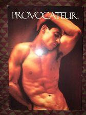Postcard Provocateur Magazine Gay Men Art Culture Nude Male Unposted Card