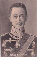 uralte AK, Portrait Wilhelm von Preußen, Unser Kronprinz