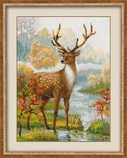"Counted Cross Stitch Kit RIOLIS 1077 - ""Deer"""