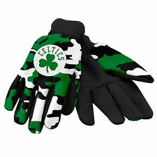Boston Celtics Camouflage Sports Utility Gloves Work gardening NEW CAMO
