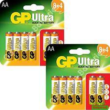 24 x AA GP Ultra Alkaline Batteries 1.5V LR6, MN1500, MIGNON, STILO