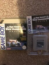 Nigel Mansell's World Championship Gameboy Boxed Free 1st Class Recorded Postage