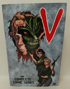 V (1985) HC Omnibus Complete DC Comic Series Custom Bound w DJ ARG COA 112