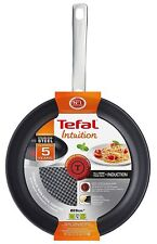 Tefal 28cm Intuition Stainless Steel Frying Pan 10 Year Guarantee All Hobs