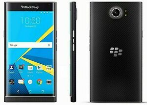 "BLACKBERRY PRIV 3gb 32gb Black 18Mp 5.4"" HD Screen Android 6.0 4g LTE Smartphone"