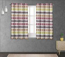 S4sassy Shibori Double Panel Window Treatment Curtain -TD-27F