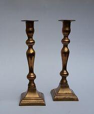 Zwei antike Messing Kerzenleuchter Kerzenständer