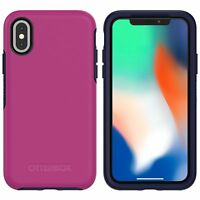 Original OtterBox Symmetry Series Case for iPhone X and XS - Berry Jam
